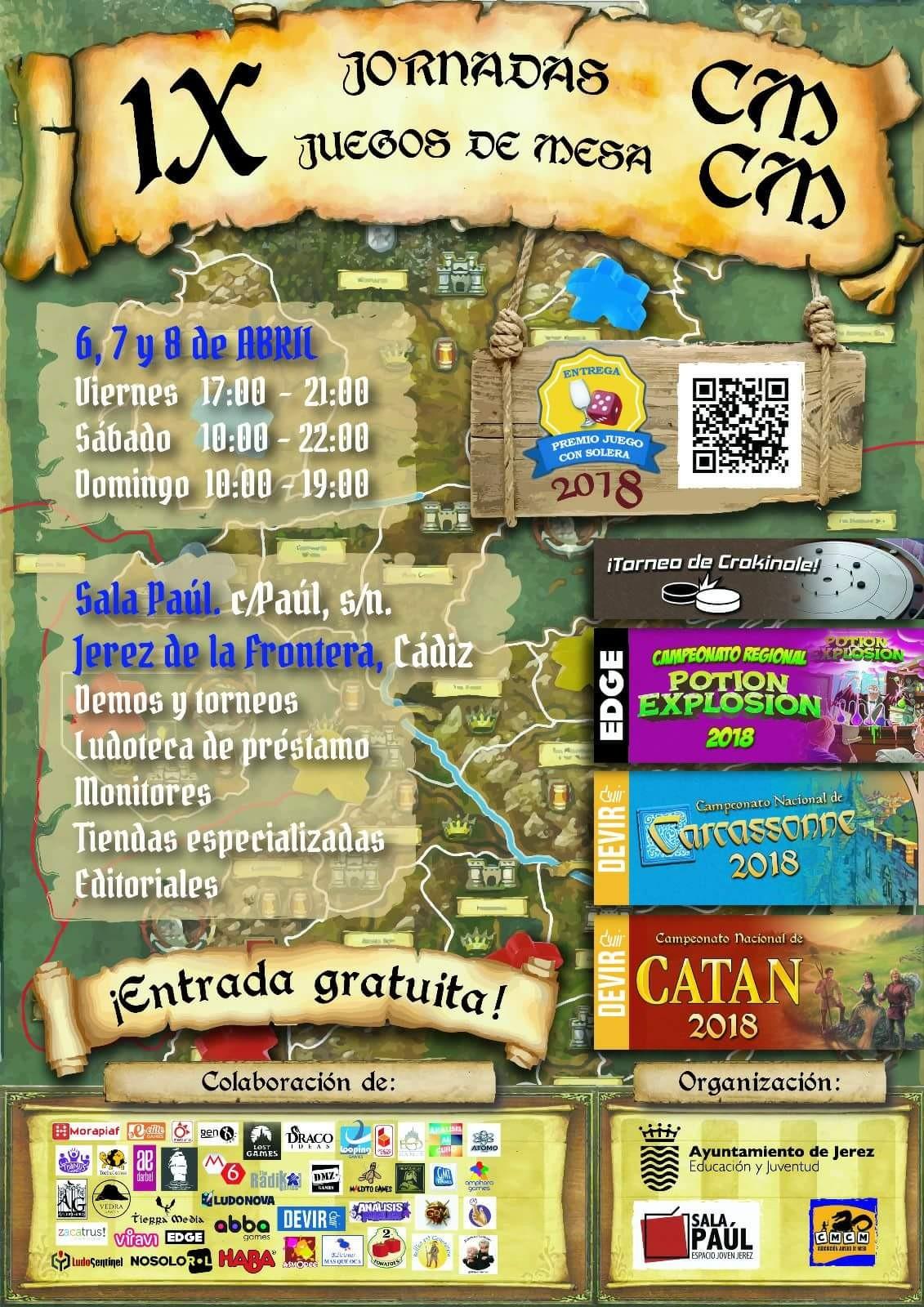 IX Jornadas de juegos de mesa CMCM - Jerez