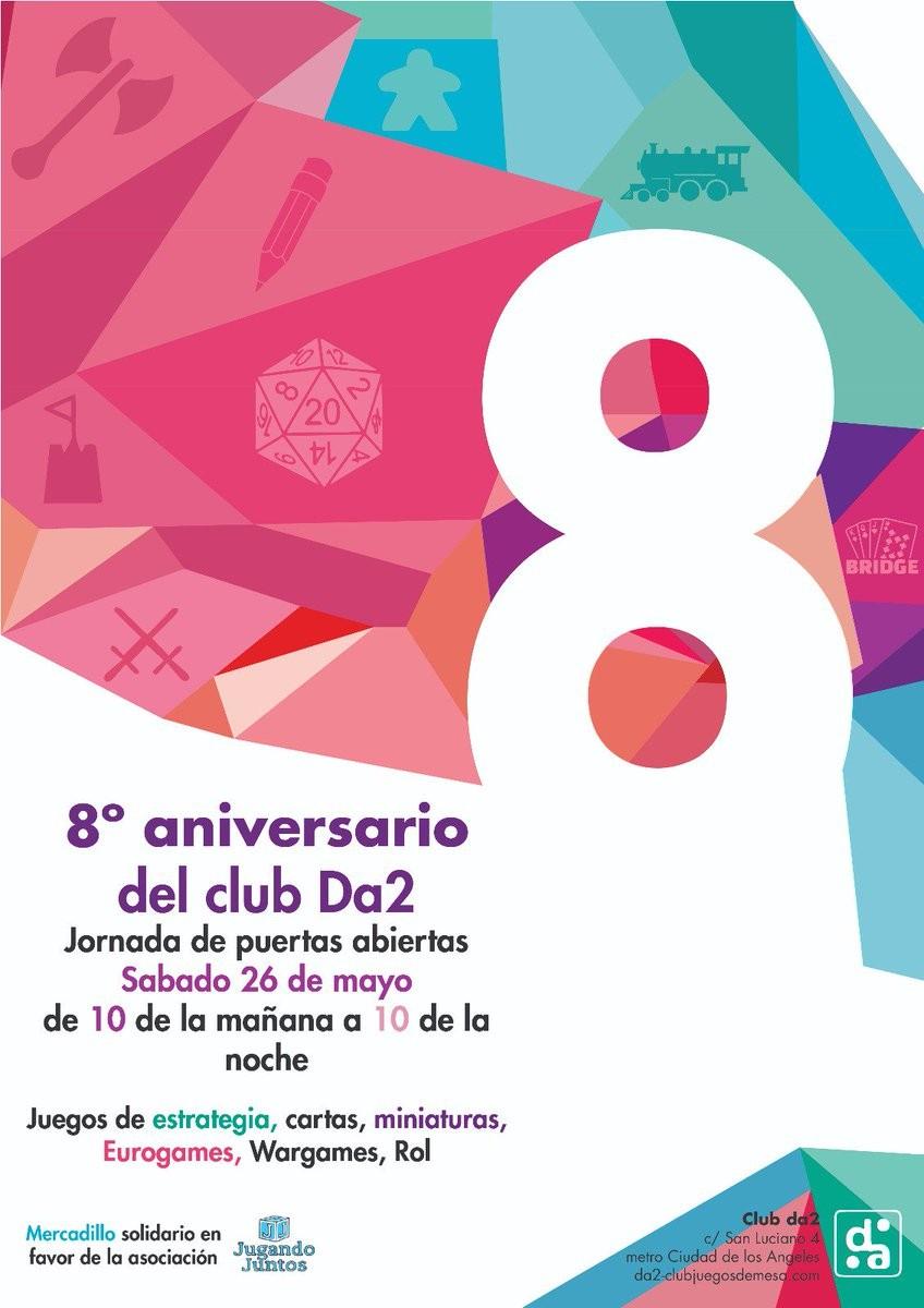 VIII ANIVERSARIO DEL CLUB DA2