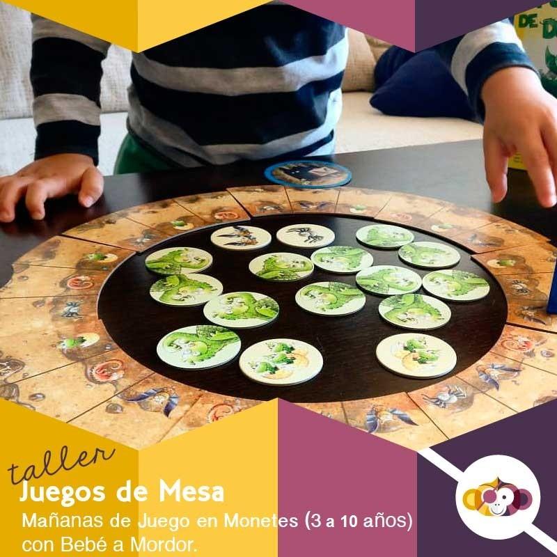 Taller Juegos de Mesa en Familia - Madrid