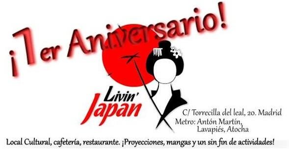 Livin'Japan I Aniversario