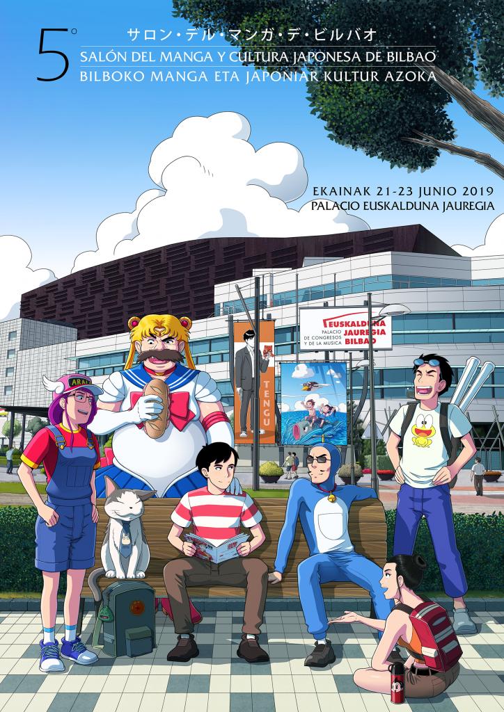V Salón del manga y cultura japonesa de Bilbao