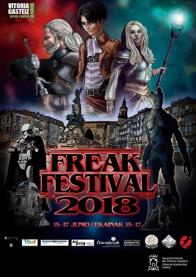 Freak Festival Gauekoak Vitoria