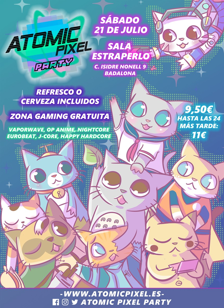 Atomic Pixel Party Badalona