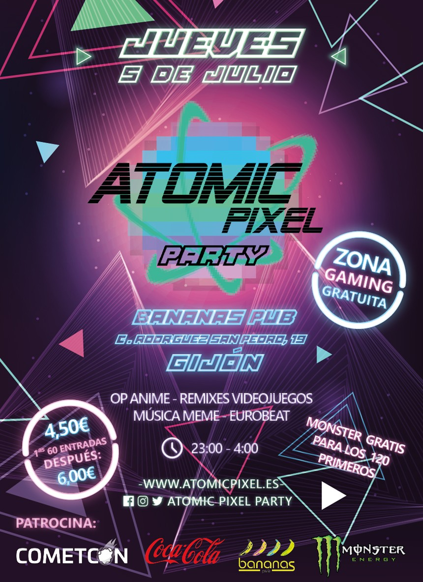 Atomic Pixel Party Gijón