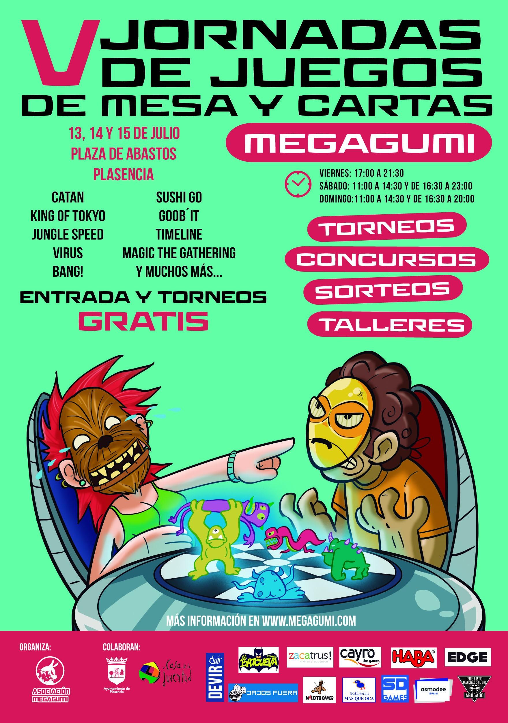 Jornada juego mesa y cartas Megagumi