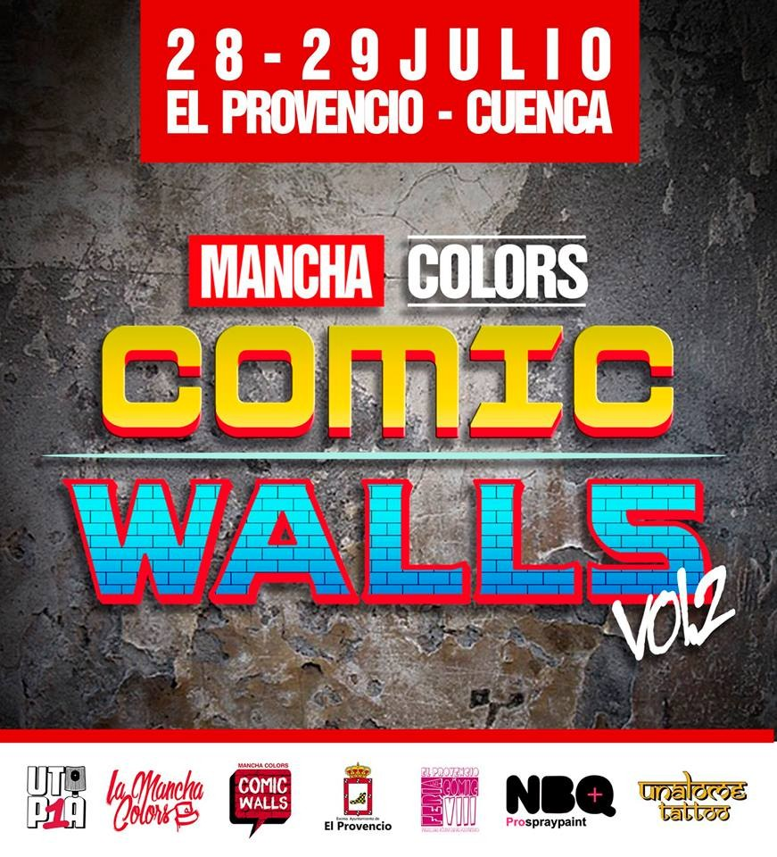 Mancha Colors Comic Walls