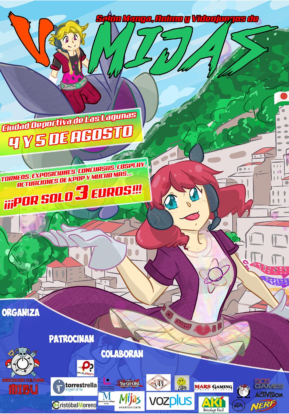 Salón Manga, Anime y Videojuegos de Mijas