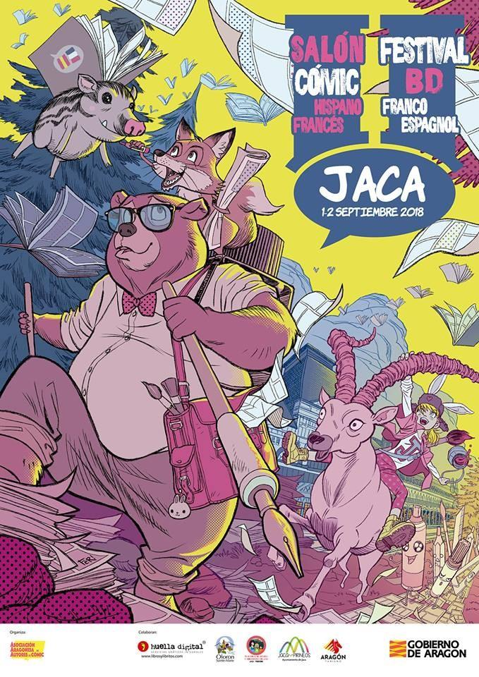 Salón Hispanofrancés del Cómic de Jaca