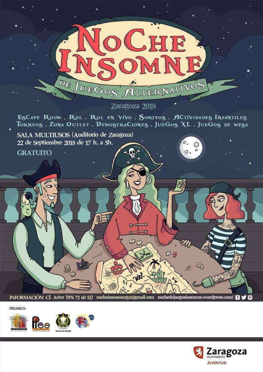 Noche Insomne de Juegos Alternativos