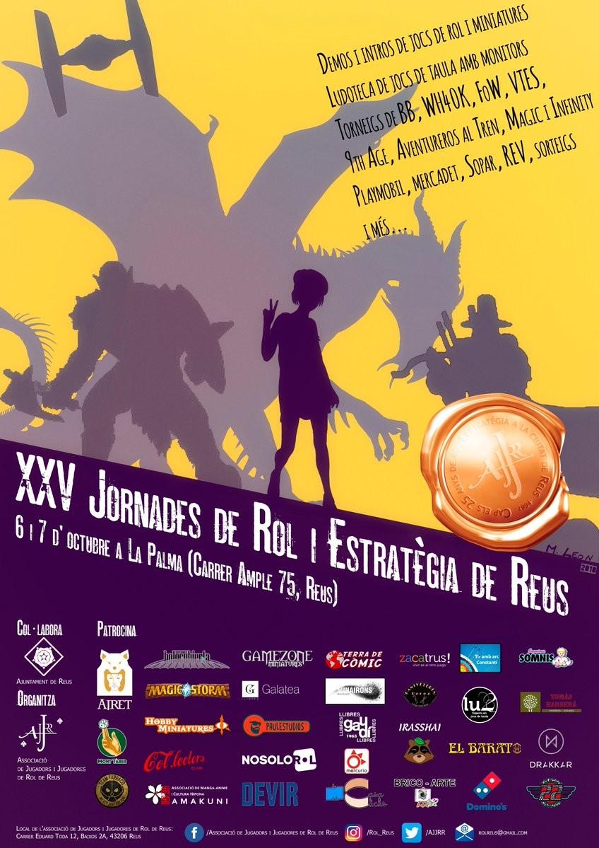 XXV Jornades de Rol i Estratègia de Reus