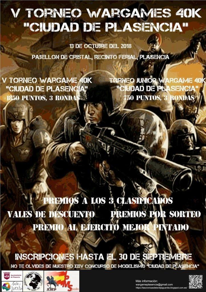 V Torneo Ciudad de Plasencia Warhammer 40K