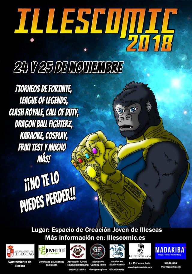 Illescómic 2018