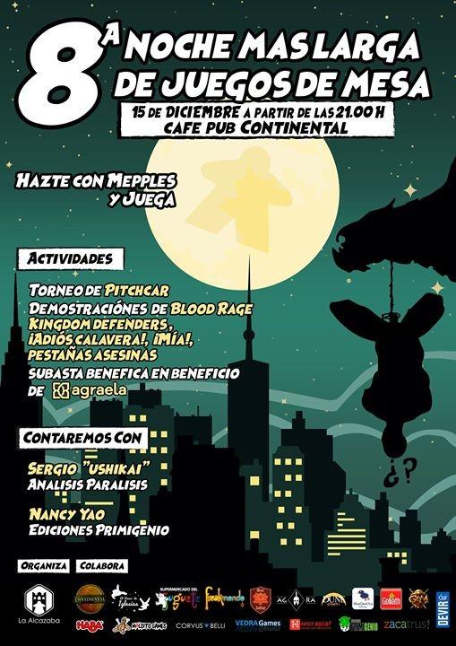 8ª Noche Más Larga de Juegos de Mesa Granada