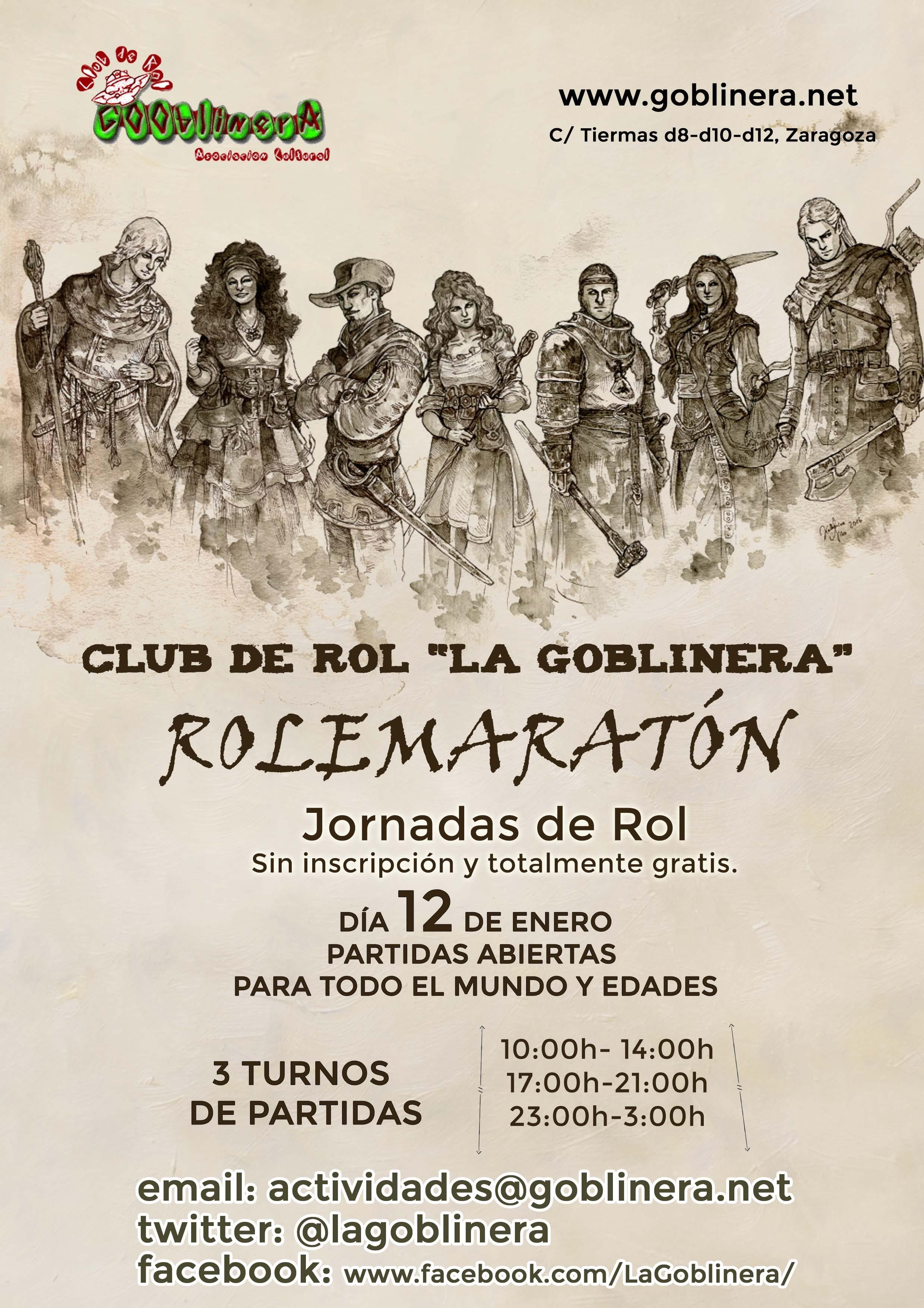 Rolemaratón La Goblinera
