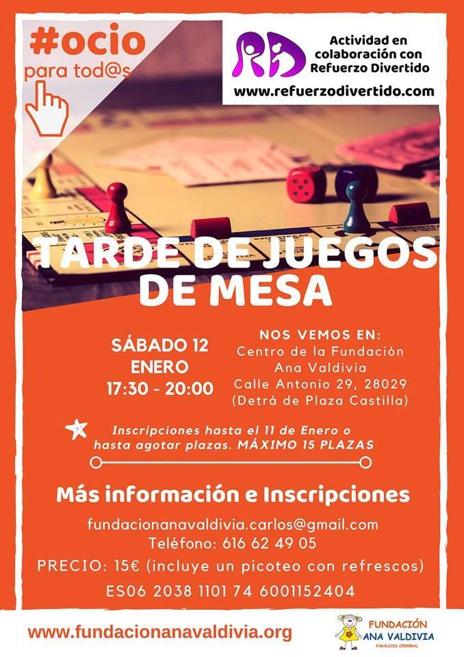 Juegos de Mesa - Fundación Ana Valdivia