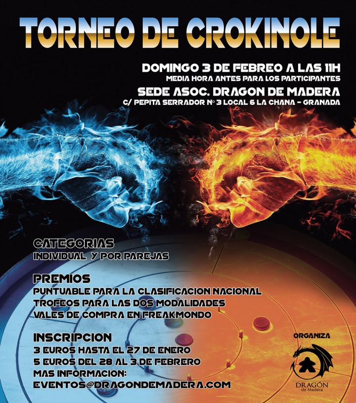 Torneo de Crokinole - Dragón de Madera