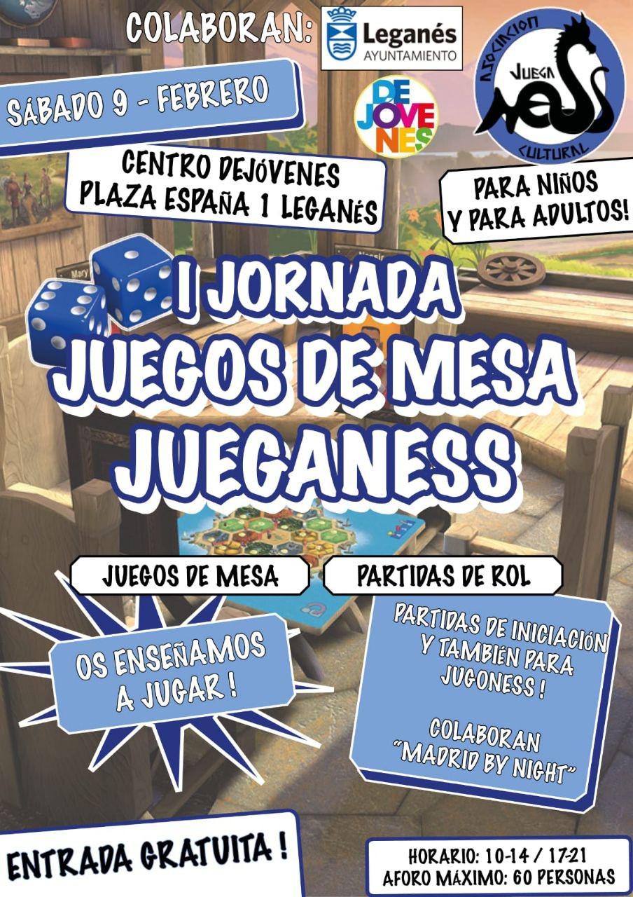Jornada de Juegos de Mesa - Jueganess
