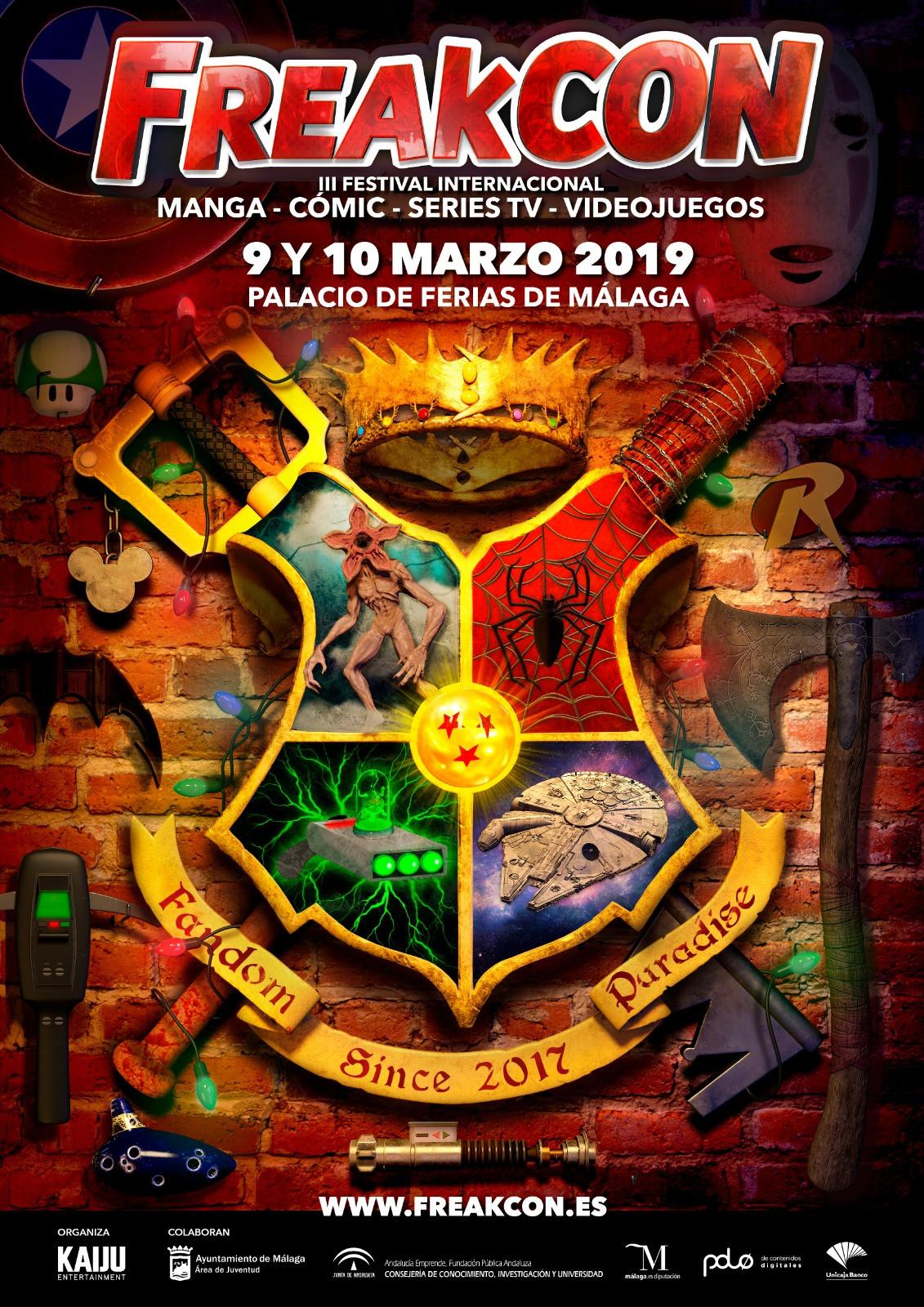 FreakCon Málaga 2019