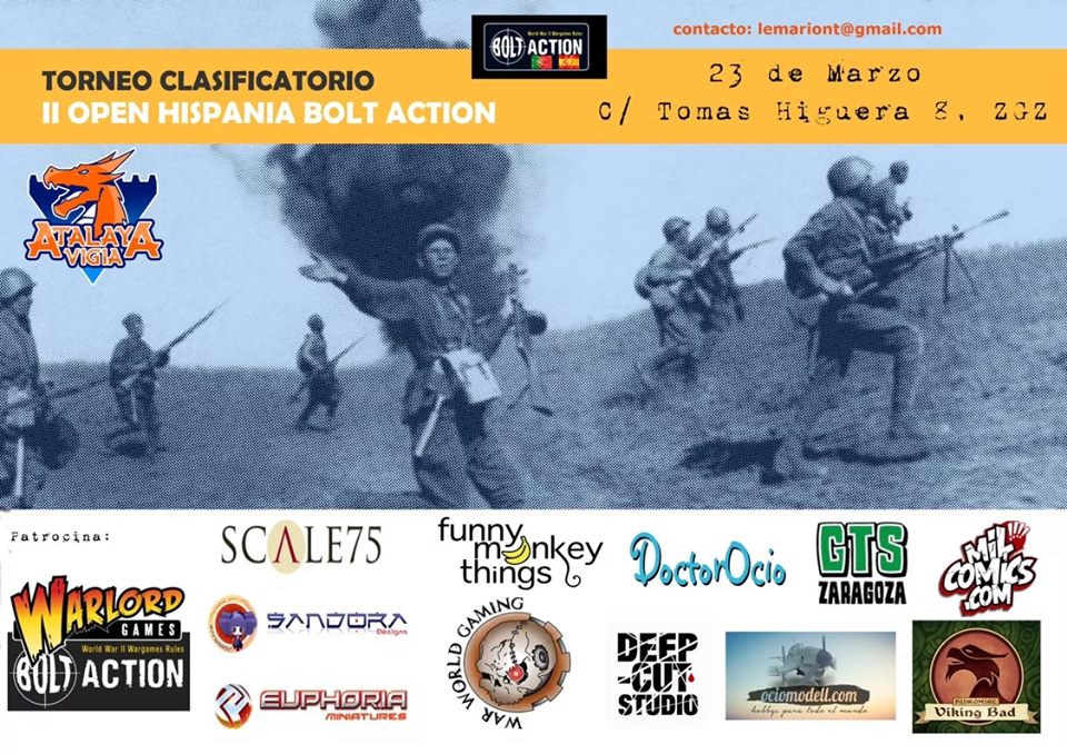 Clasificatorio II Open Hispania Bolt Action