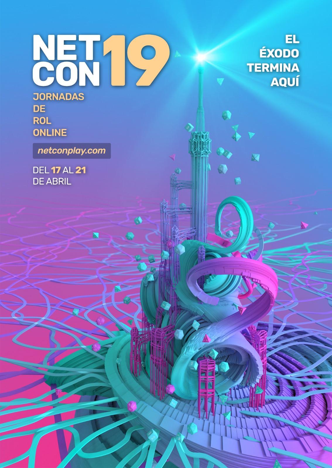 NetCon 19 - Jornadas de Rol Online