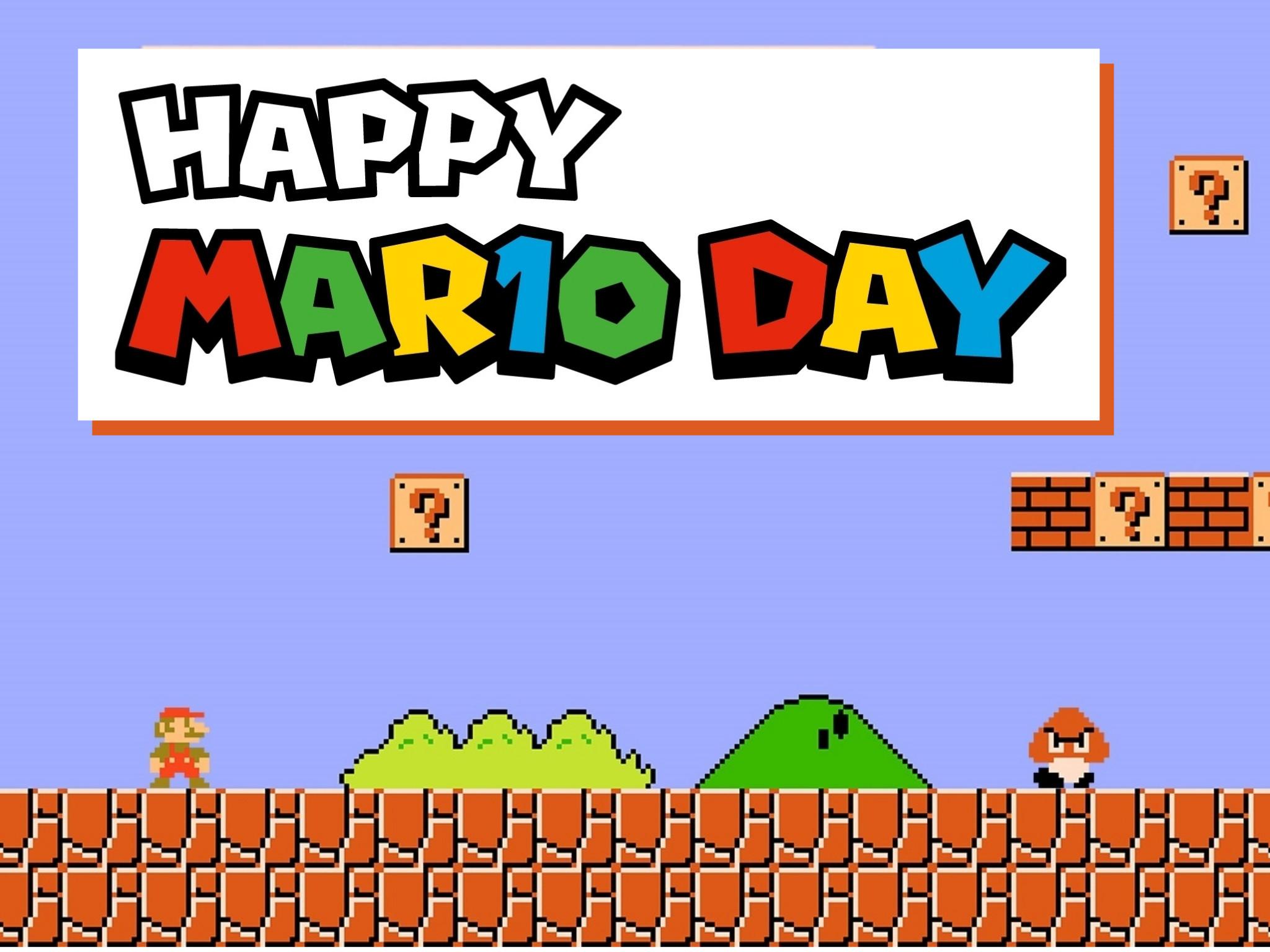 Día de Super Mario