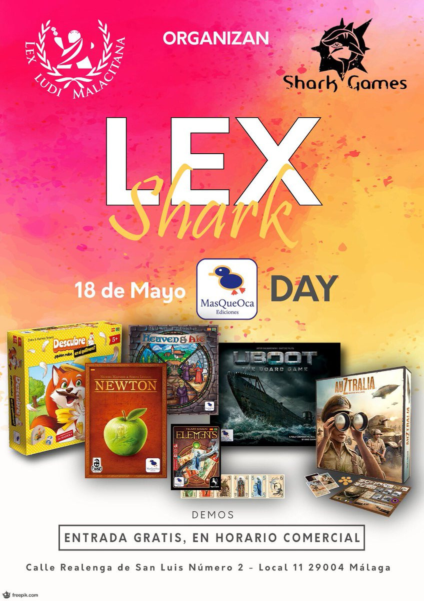 Lex Shark MasQueOca Day
