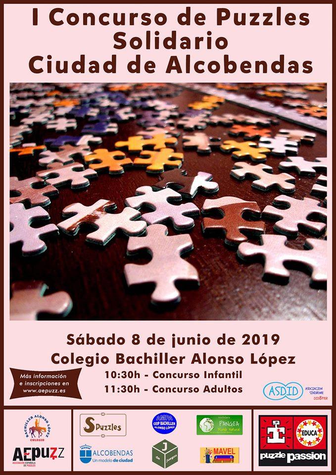 I CONCURSO DE PUZZLES SOLIDARIO CIUDAD DE ALCOBENDAS