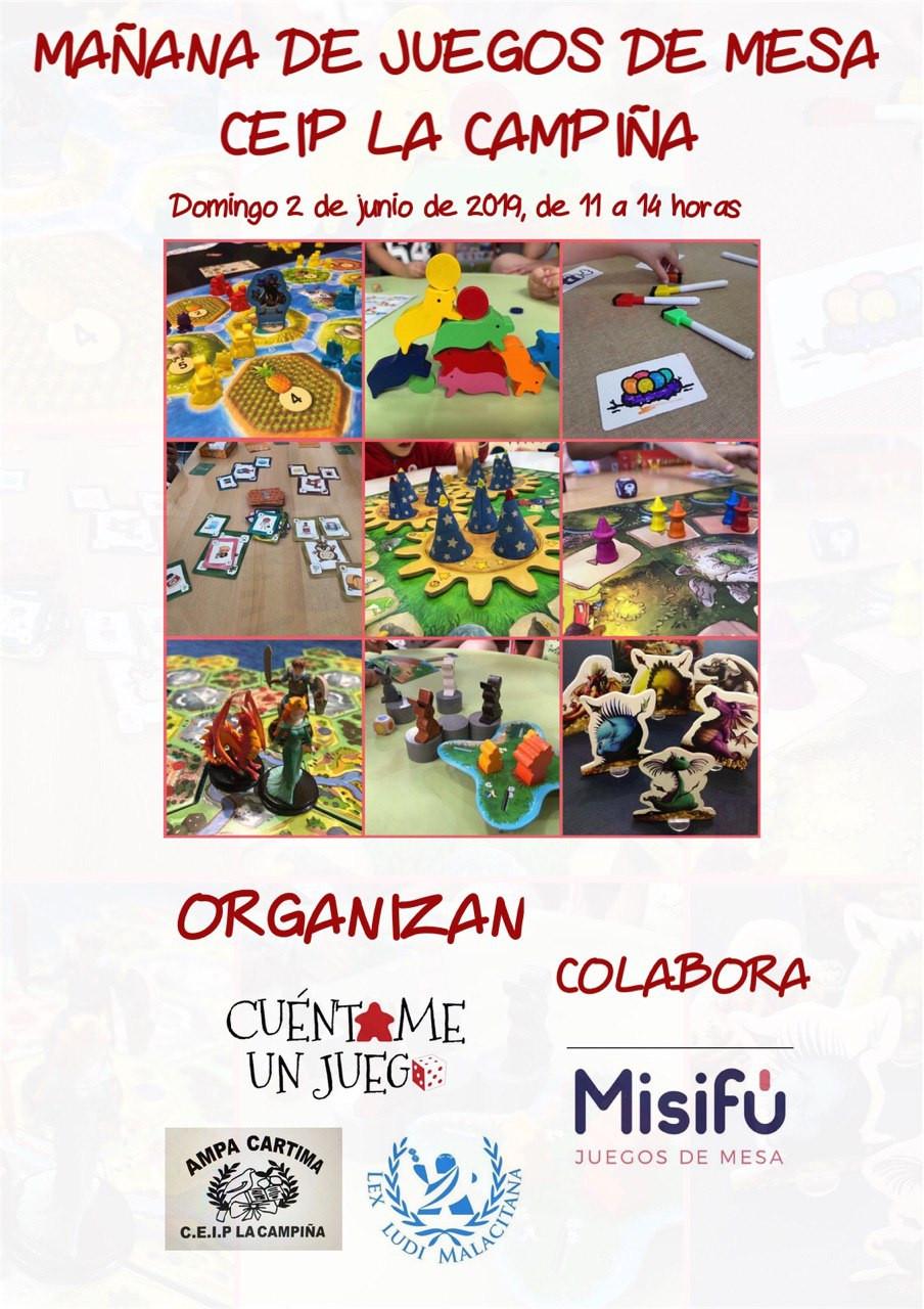 Mañana de Juegos de Mesa en el CEIP La Campiña
