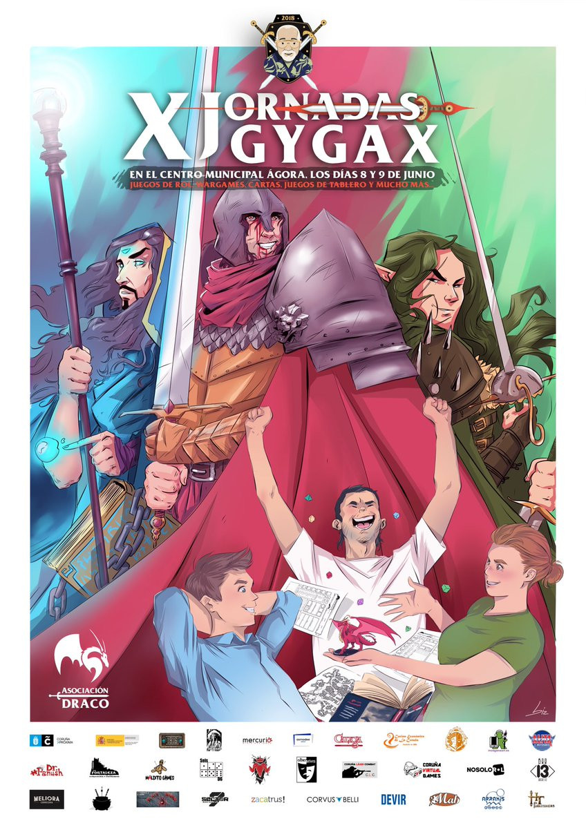 X Jornadas Gygax - Coruña