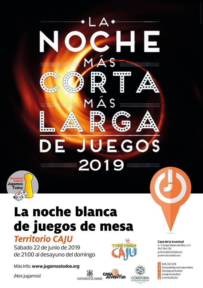 La Noche Más Corta Más Larga de Juegos 2019 en Córdoba