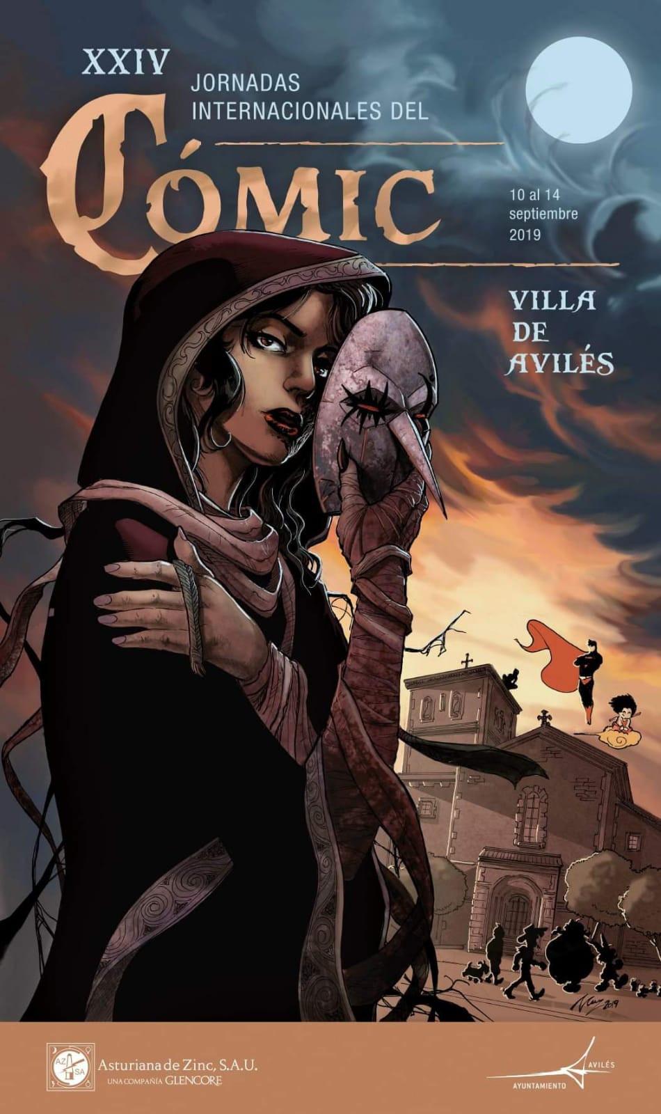 XXIV Jornadas de Comic de Aviles 2019