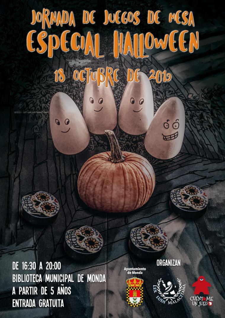Jornada de Juegos de Mesa Especial Halloween