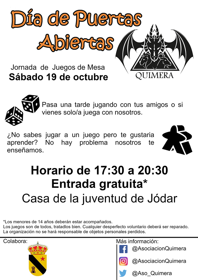 Día de puertas abiertas - Quimera