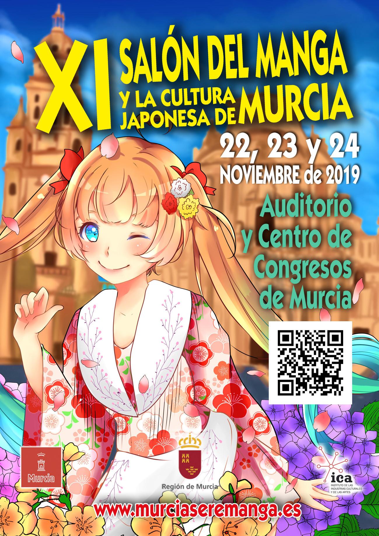 XI Salón del Manga y la Cultura Japonesa de Murcia