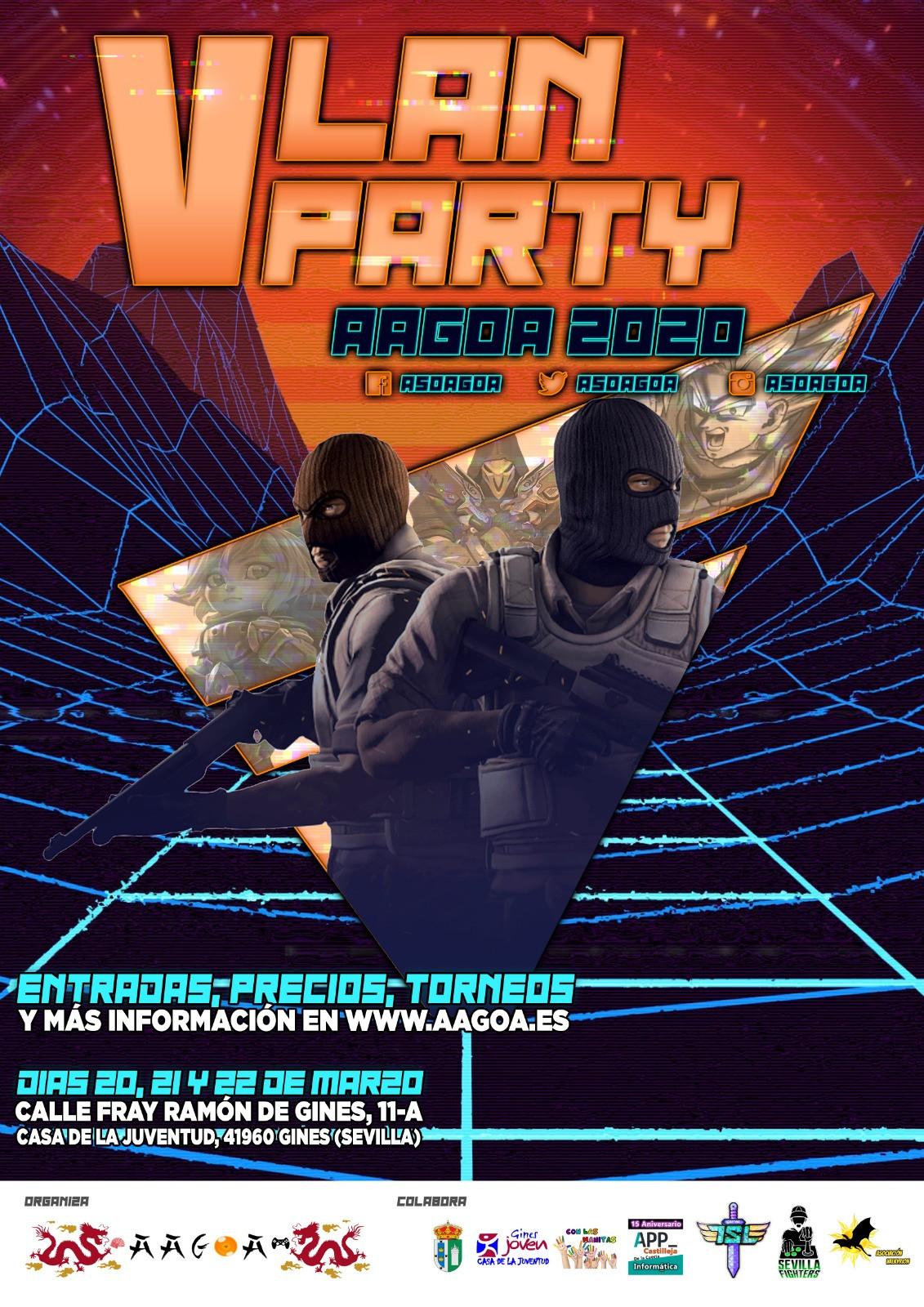 V LAN Party AAGOA 2020