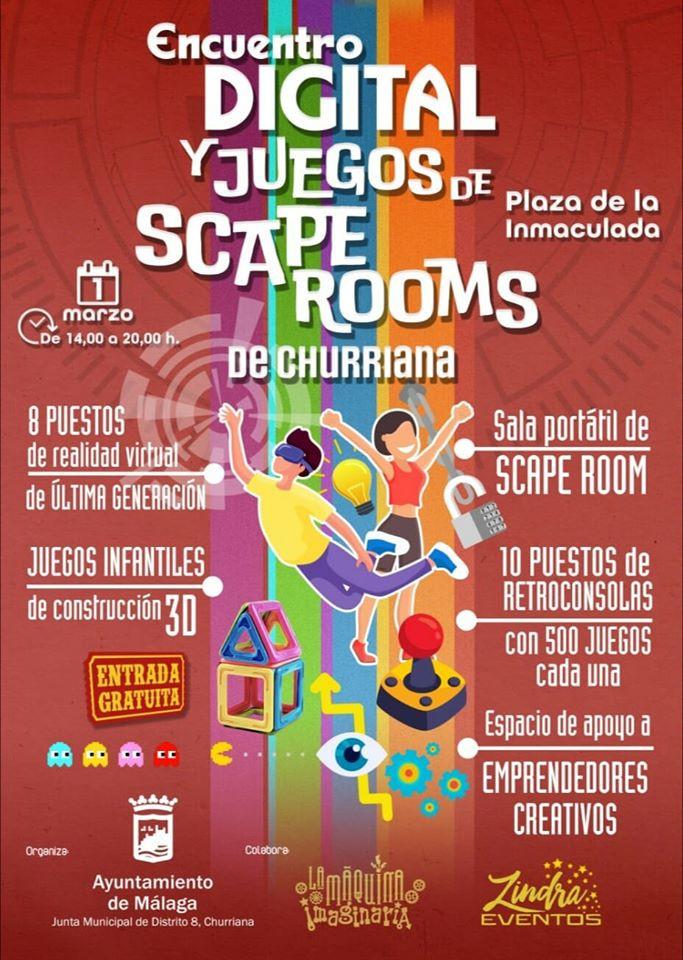 Encuentro digital y Scape rooms
