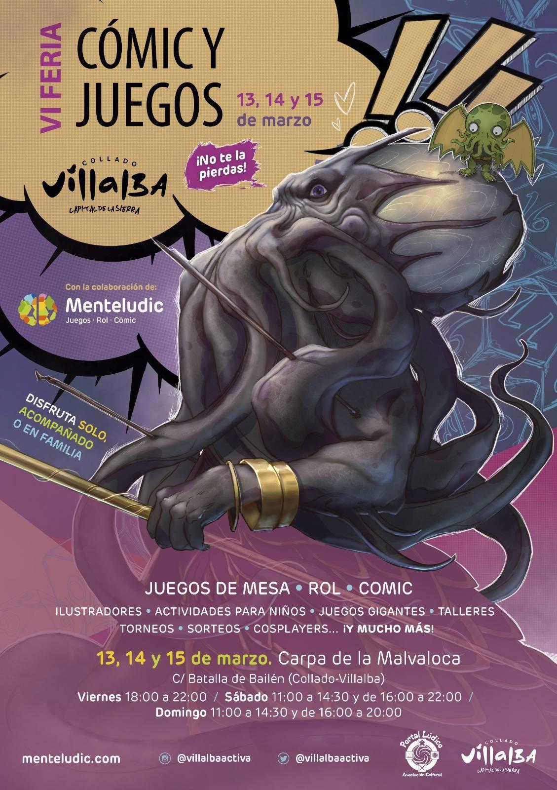 VI Feria Comic y Juego Menteludic