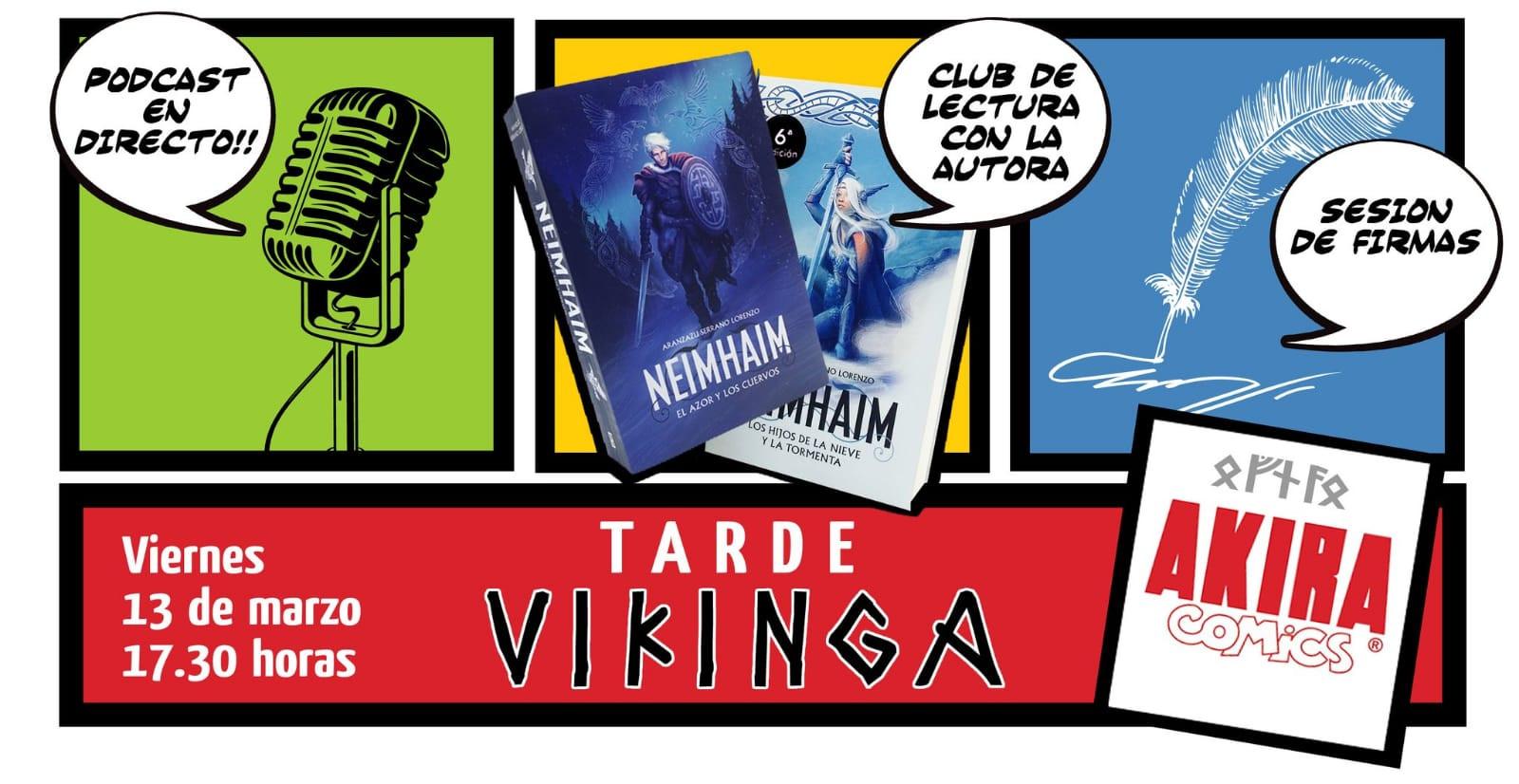 Tarde Vikinga Akira Comics