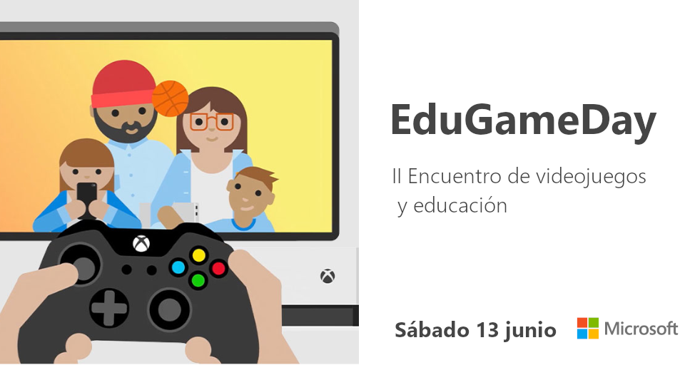 #EduGameDay: II Encuentro de videojuegos y educación