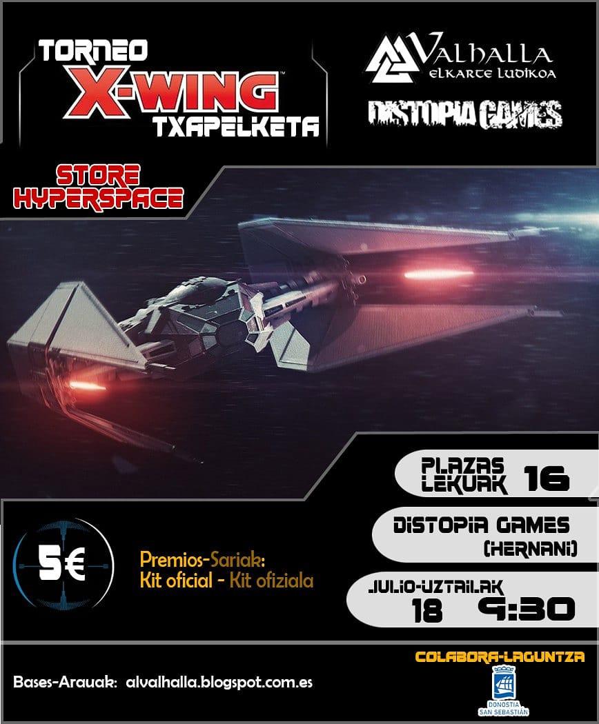Torneo de Xwing en Dstopiagames Valhalla Elkartea