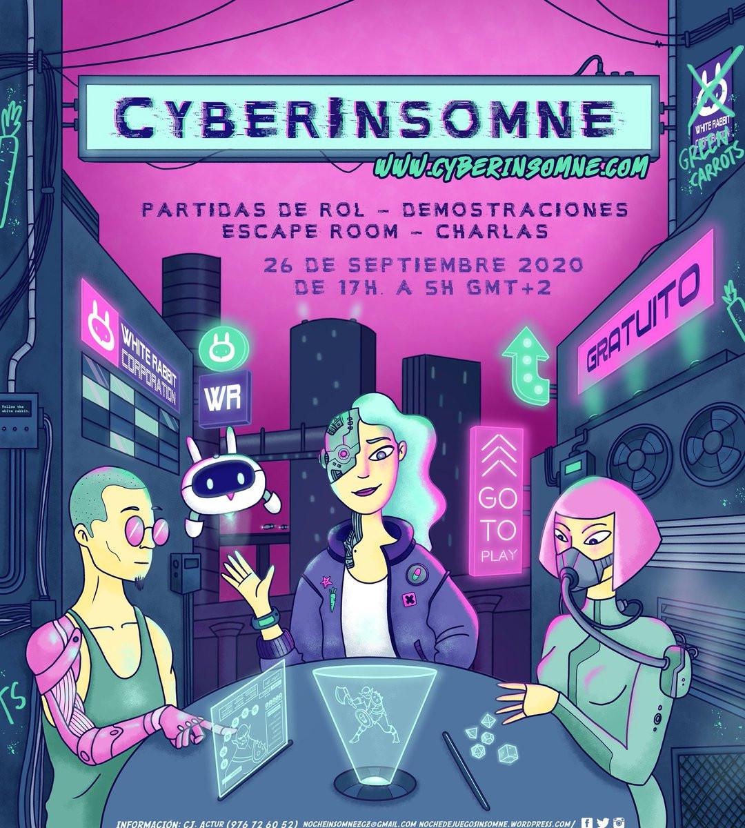 NOCHE INSOMNE 2020 (CyberInsomne)