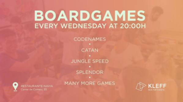 NOCHE DE JUEGOS DE MESA | BOARD GAMES NIGHT