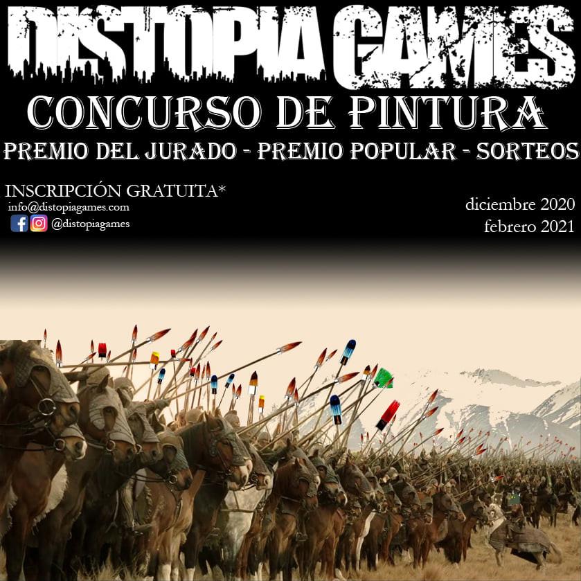 Concurso Pintura Distopia Games
