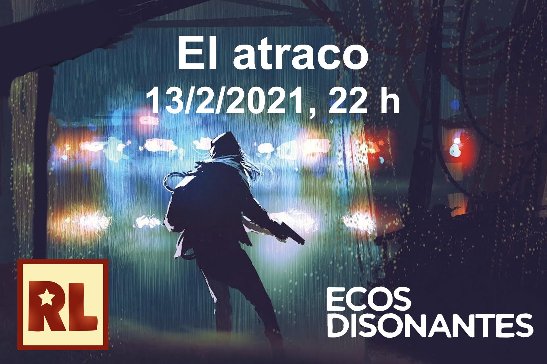 Resistencia Lúdica El atraco (Pbta)