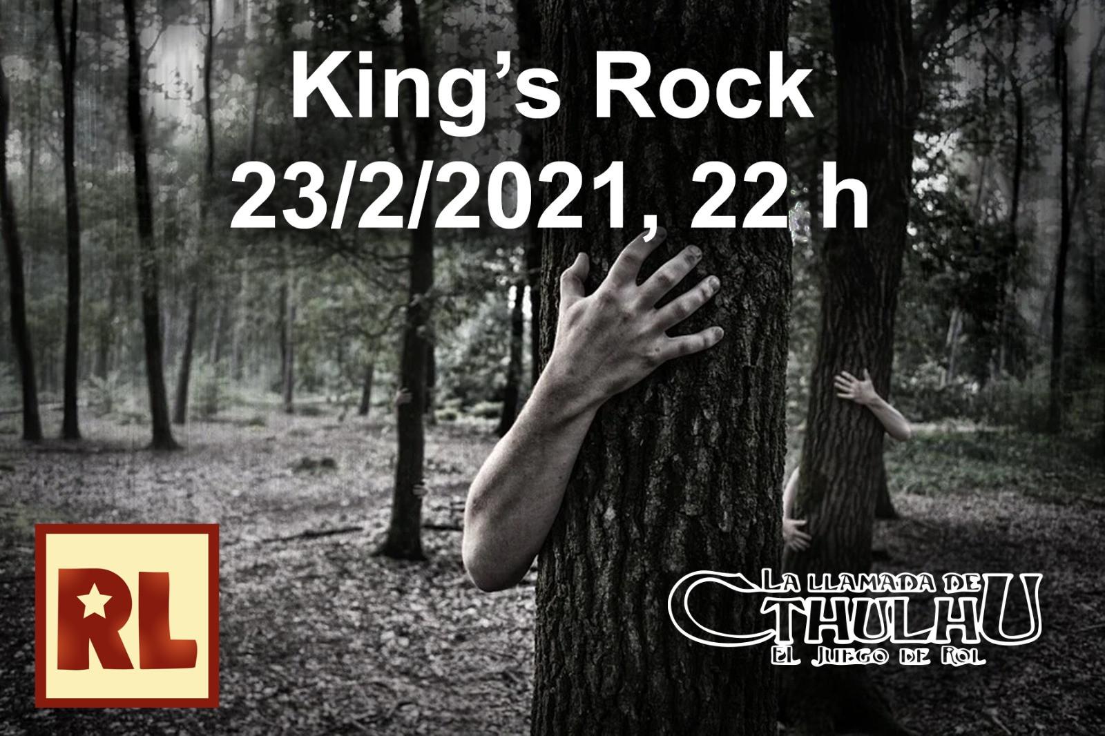 Resistencia Lúdica King's Rock (La llamada de Cthulhu)