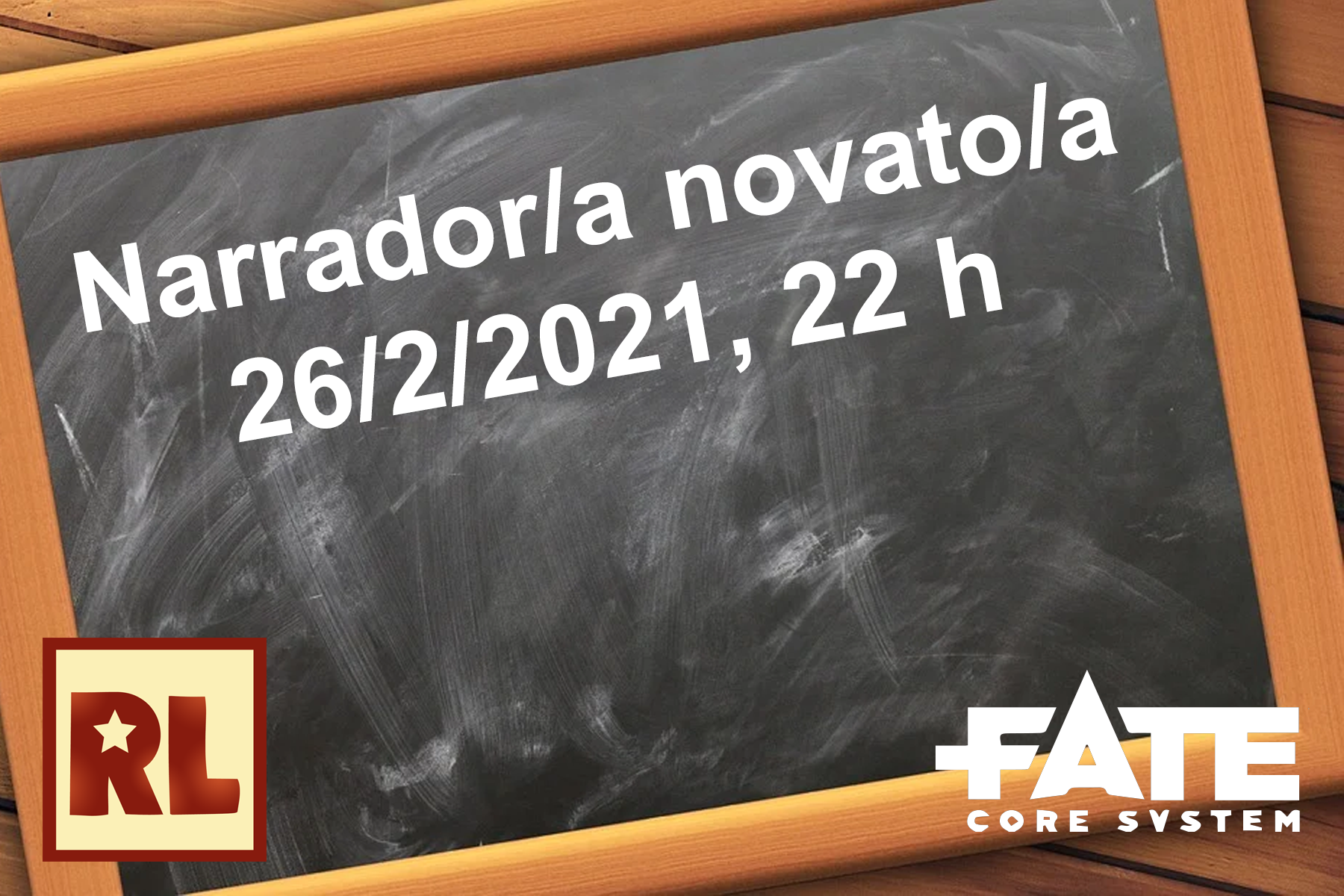 Resistencia Lúdica arrador/a novato/a (Fate core)