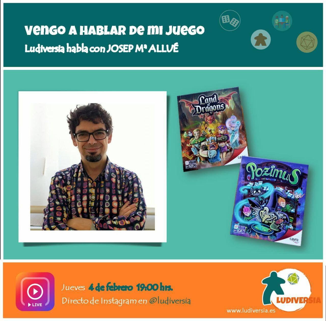 Ludiversia Entrevista a Josep María Allué