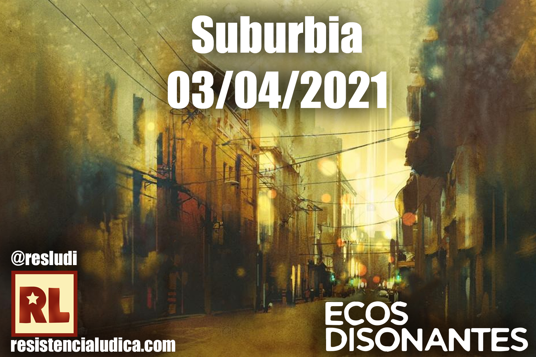Resistencia Lúdica - Suburbia (PbtA)