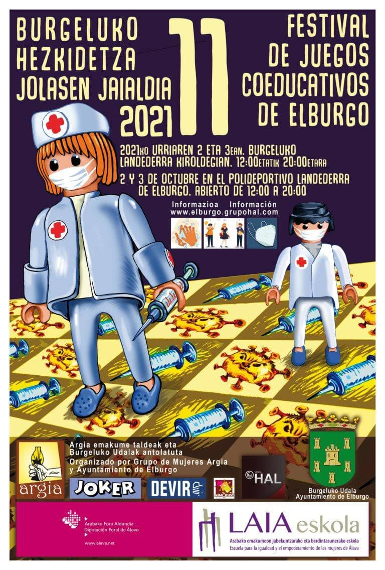 Festival de juegos coeducativos de Elburgo