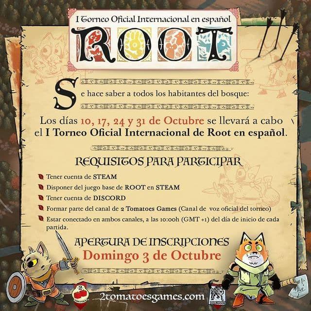 I Torneo Oficial Internacional de Root en Español